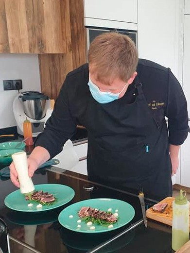 private chef at home